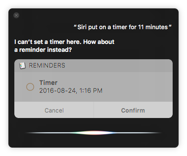 Siri on macOS
